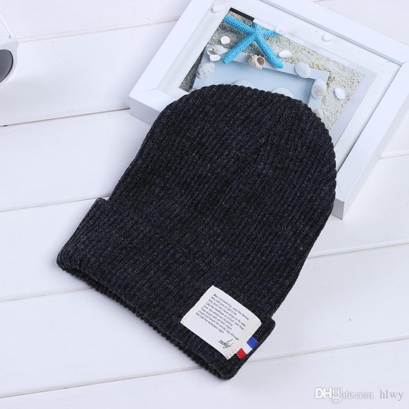 Korean Fashion Lovers Warm In Autumn And Winter Hat Tide All-match Knitted Women Girls Hat Boy Caps Rasta Hat