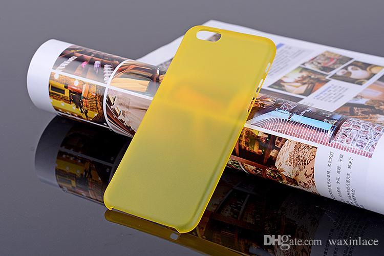 Ultra Thin Soft Plastic Gel Original Transparent Case For iPhone 6 6s 6Plus 6sPlus 7plus Clear PC Cover Phone Cases