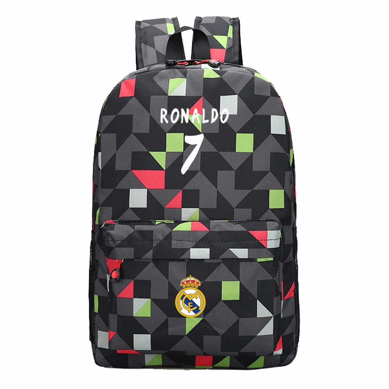 Men Backpack Boys School Bags For Teenagers Back Pack Cristiano ...