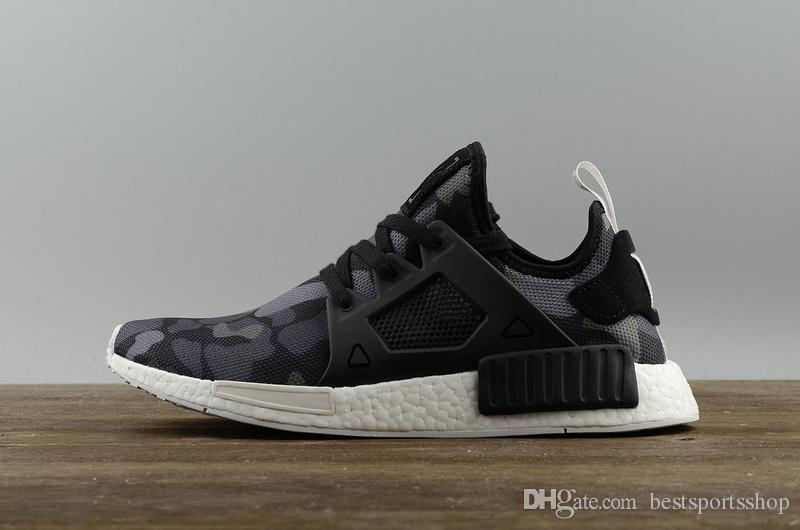 5eb84ce9cd Adidas NMD XR1 PK Primeknit Utility Black Men Trainershop.co