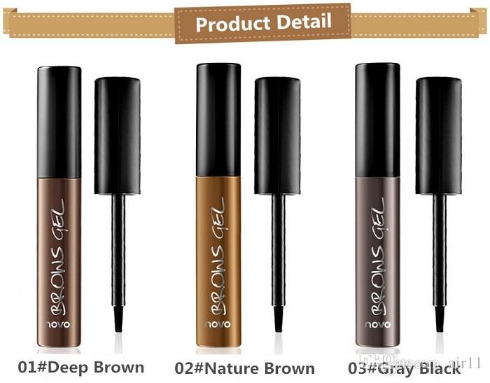 Eye Brow Tattoo Tint Waterproof Long-lasting Peel Off Dye Eyebrow Gel Cream Mascara Make Up Pen Korean Cosmetics NOVO Eye Makeup 24pcs