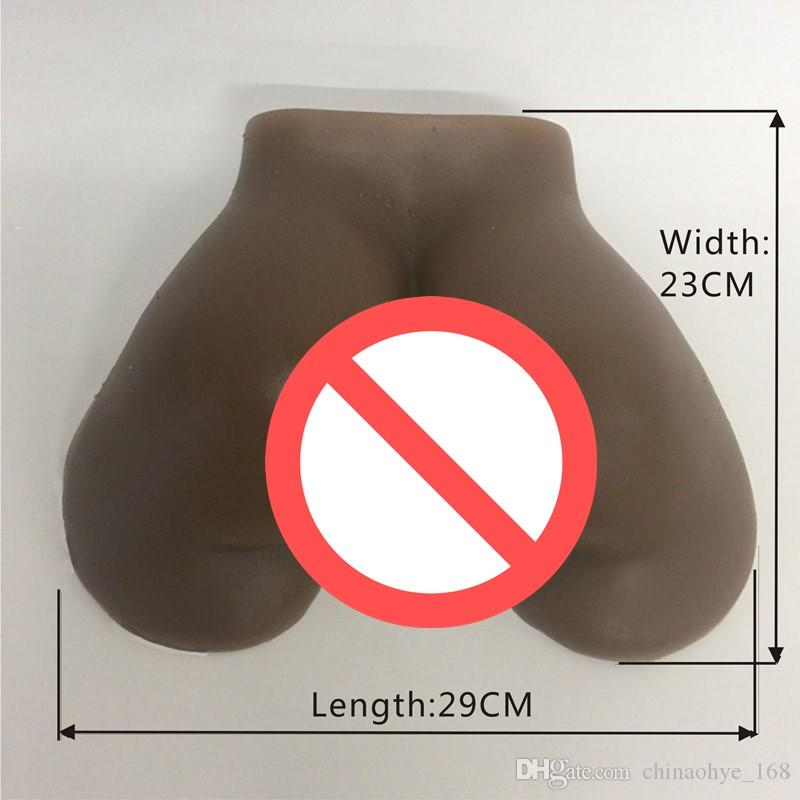 Brown Mini Pussy Fake Ass Sex Toy Male Masturbator For Men Female Realistic Silicone Vagina Real Pussy Anal Sex Doll real adult dolls