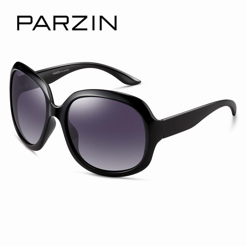 71e6a988c PARZIN Women Brand Designer Sunglasses Square Elegant Female Spectacles Big  Frame Driving Sun Glasses With Logo Box 6216 Sunglasses Online Sunglasses  Brands ...