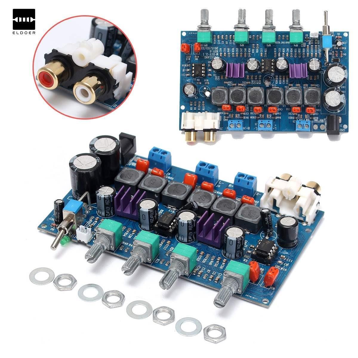 2019 2 1 digital amplifier board subwoofer amp tpa3116d2 50w 50w