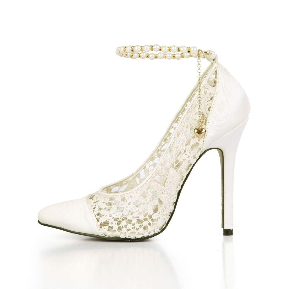 Hot Sale 2017 New Summer Fashion Satin Pump Women Shoes Lace Mesh ... c5f3b3569d53