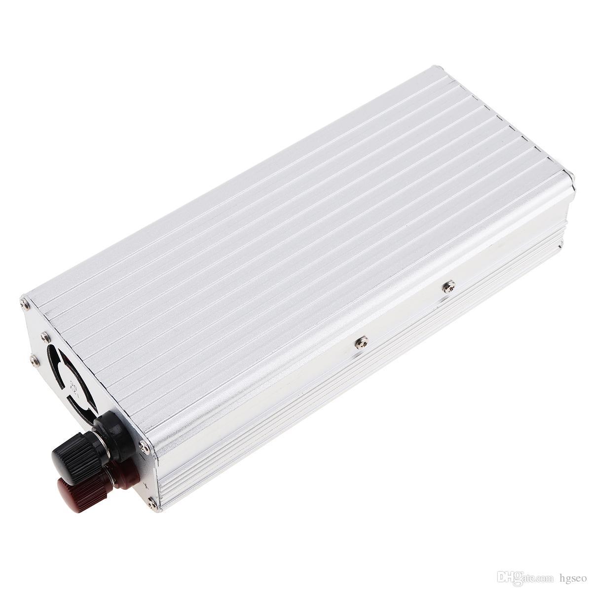 1500 Вт DC 12 В 24 В в переменный 220 В 110 В USB Портативное зарядное устройство Преобразователь Автомобильный инвертор для электронных продуктов Sugar Power 3000 Вт CEC_62M