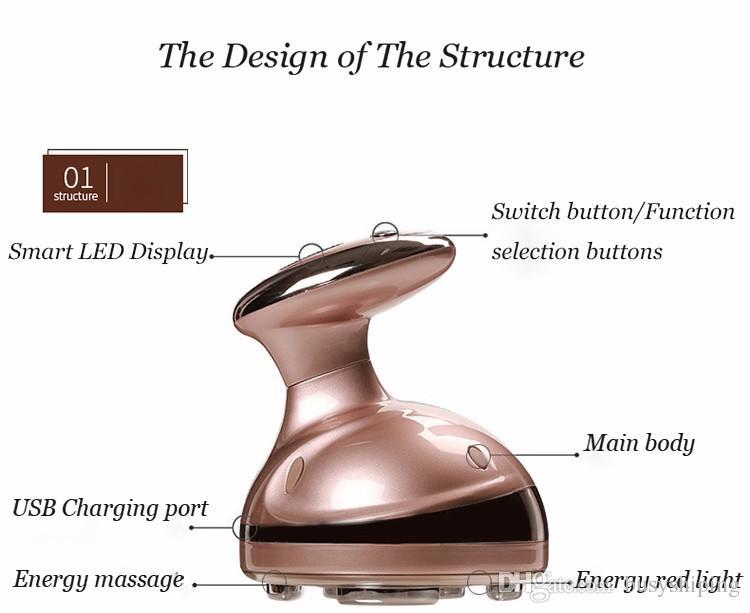 الشرب RF التجويف بالموجات فوق الصوتية الصمام الجسم التخسيس مدلك الدهون الموقد مكافحة السيلوليت يبو راديو تردد جهاز تدليك الجمال
