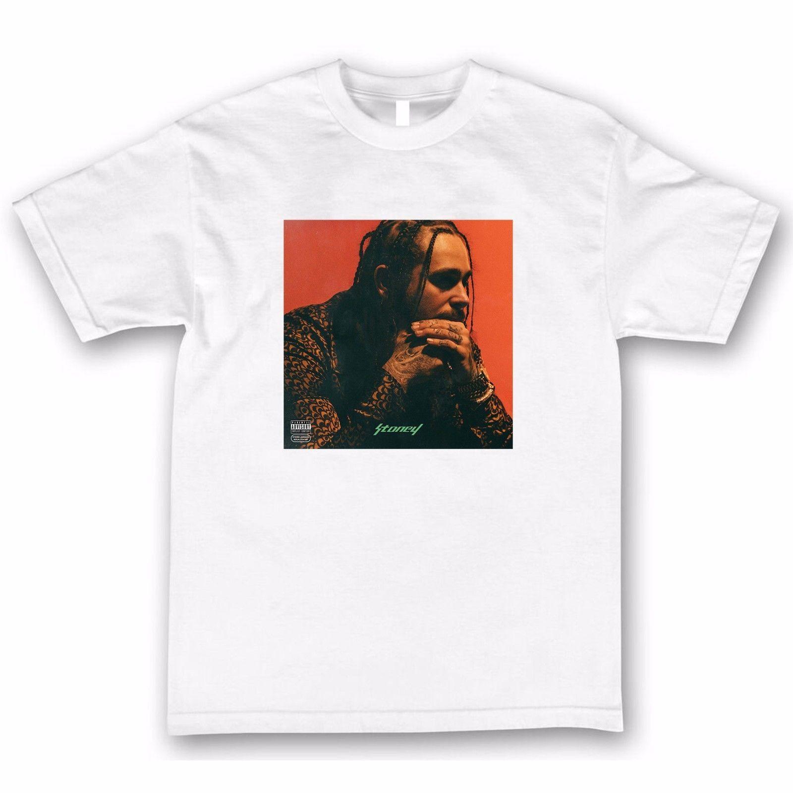 Post Malone Stoney T Shirt Tee Shirts 3D T Shirt Men Plus Size Cotton Tops  Tee Hipster Tee Shirt Homme T Shirt Sale Cool Shirt Designs From Pingguo1 ac865fbc6