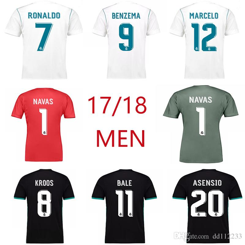 63d1c2bb2ae Source · 2019 Top Quality 1718 Real Madrid Away Soccer Jersey Goalkeeper  2018