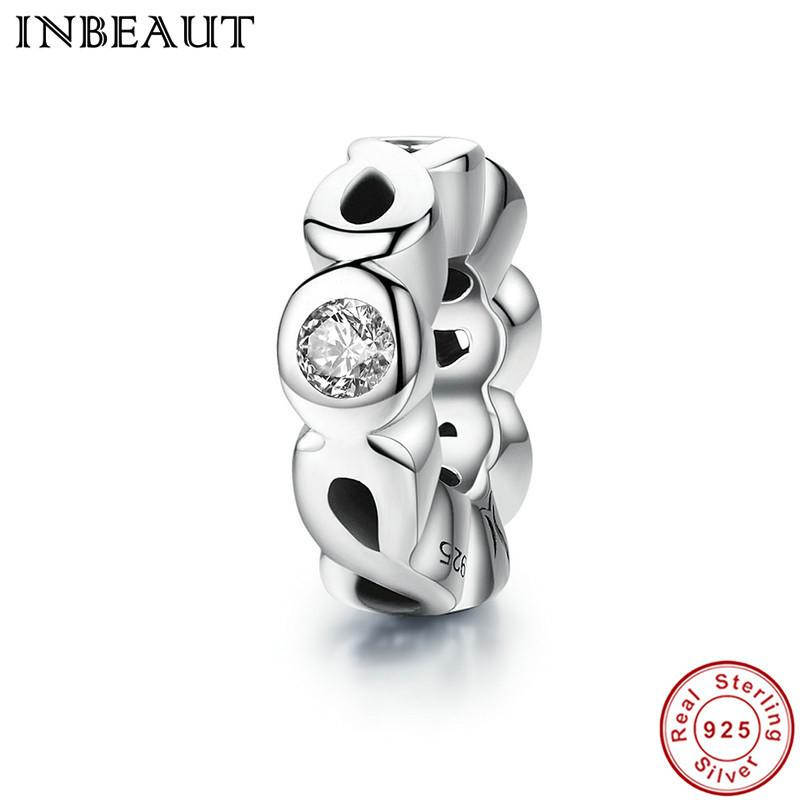 002e6134f INBEAUT Authentic 925 Sterling Silver Infinity Love Charm & Clear Cubic  Zirconia Charms Fit Pandora Bracelet Jewelry Online with $11.86/Piece on ...