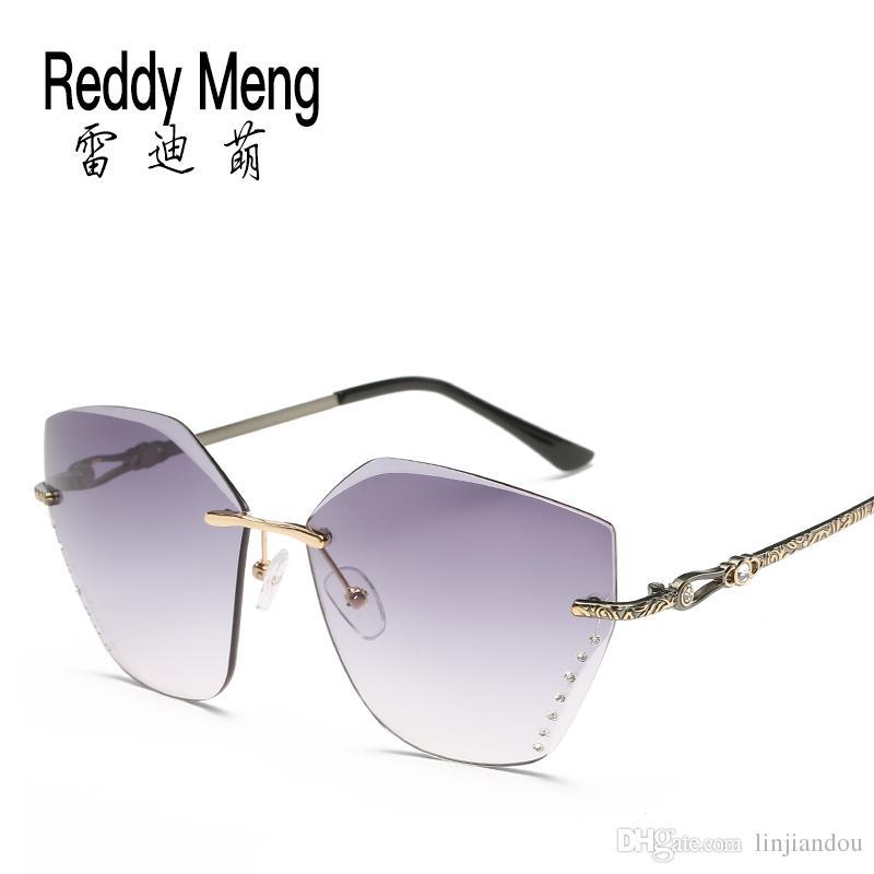 c7933ac7ea Compre Reedy Meng 2017 Moda Clásica De Verano Al Aire Libre De Viaje Gafas  De Sol Sin Montura Mujeres Y Dama Gafas Polarizadas De Protección De La  Vista Un ...