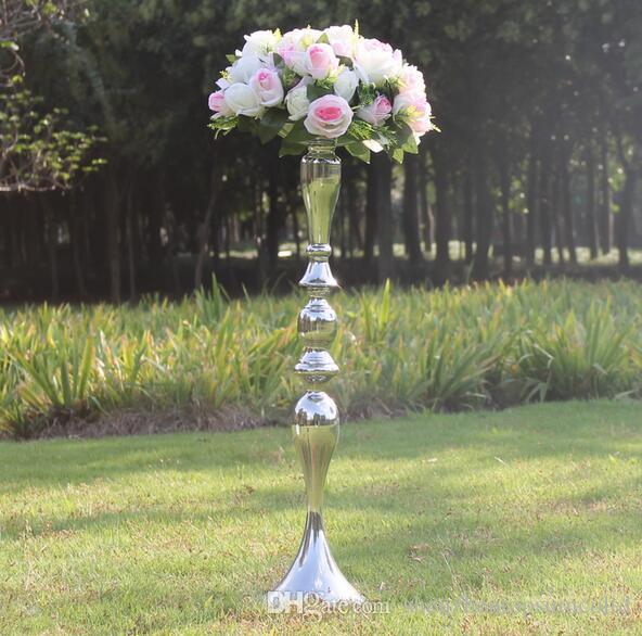 73cm height metal candle holder candle stand wedding centerpiece event road lead flower rack /