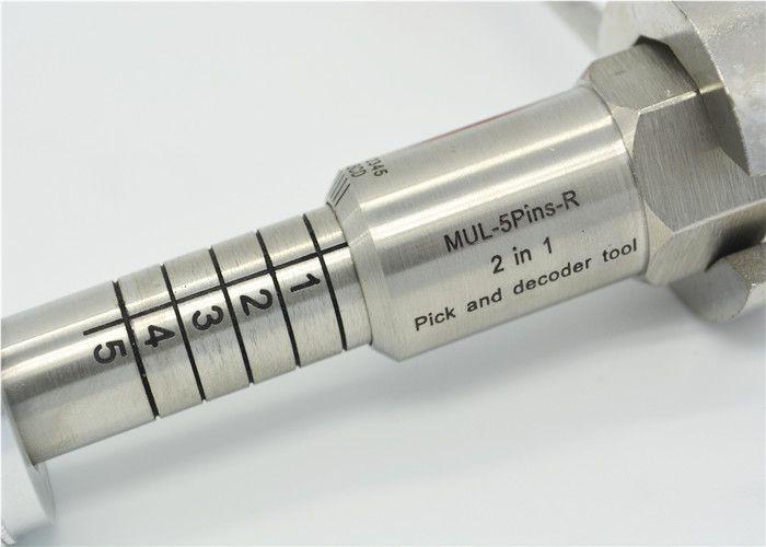 Hot Sale Locksmith Tools Lock Pick Opener MUL-T-LOCK 5 PIN 2 IN 1 Lock Tool Right