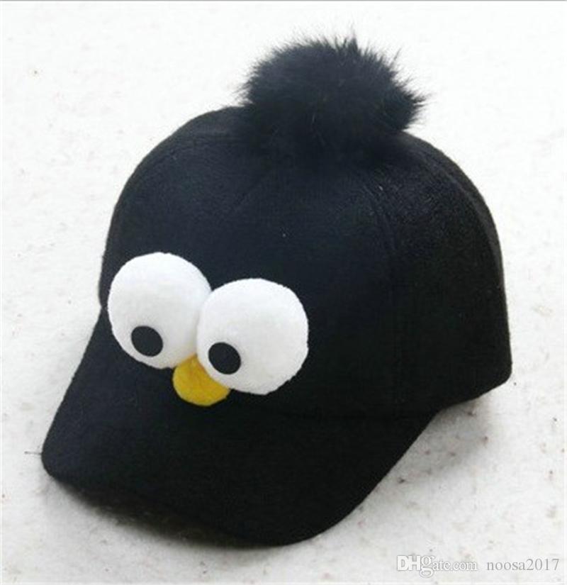 Berretto da baseball di berretto da baseball occhi berretto da baseball di moda i grandi bambini da 2-8 anni cappello da baseball con cappelli da sole e snapback.