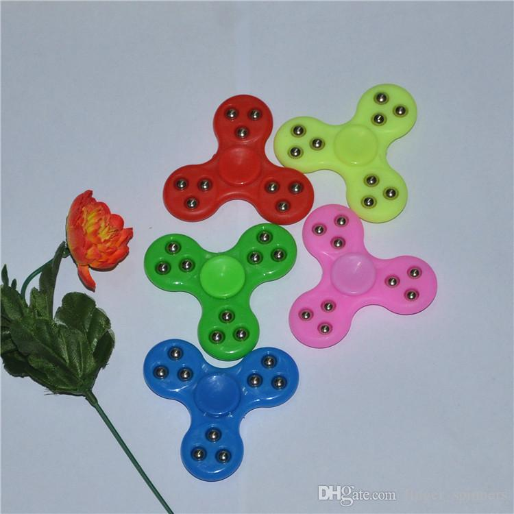 Best Selling Clover Fidget Toy Edc Figit Finger Toys Spinner Faddish Tri Spinners Cheap Hand Dhl Free Homemade Spinning Top