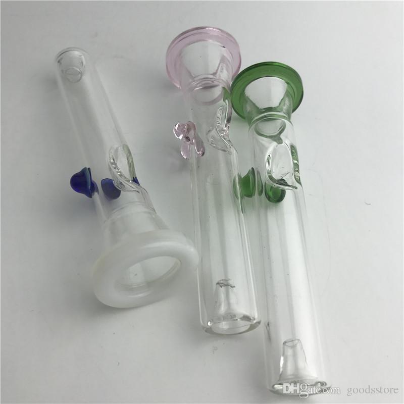 Новые многофункциональные стеклянные трубки для курения толстых Pyrex Красочные дешевые стеклянные трубки для рук Сухая трава Табачная трубка