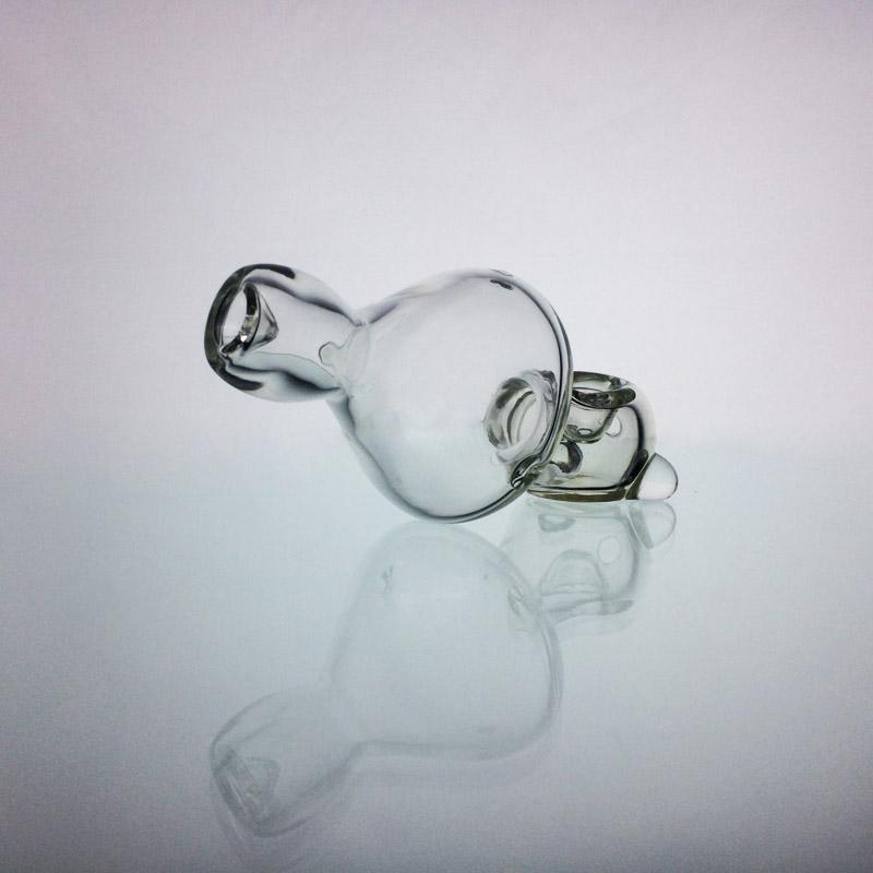Tubos de vidro Tornado de mão de tubos Acessórios de fumo por Herb 5 polegadas Limpar Pesado Tubo frete grátis