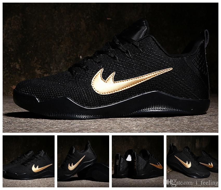 5f3b84dcb6c7 2016 New Kobe 11 Elite Low FTB Black Mamba Basketball Shoes Kobe XI Top  Quality Two XX Kobe 11 Sport Sneakers Kobe Men Shoes Men Shoes Online Online  Shoe ...