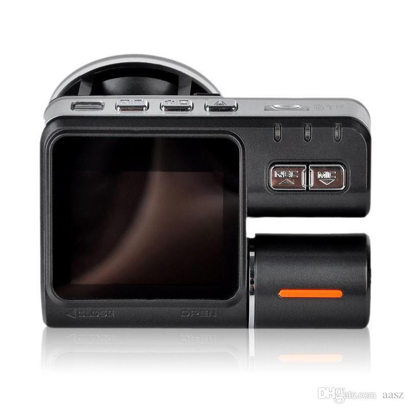 Cámara del coche de la lente dual DVR I1000 Full HD 1080P Cámara de la asamblea del LCD de 2.0