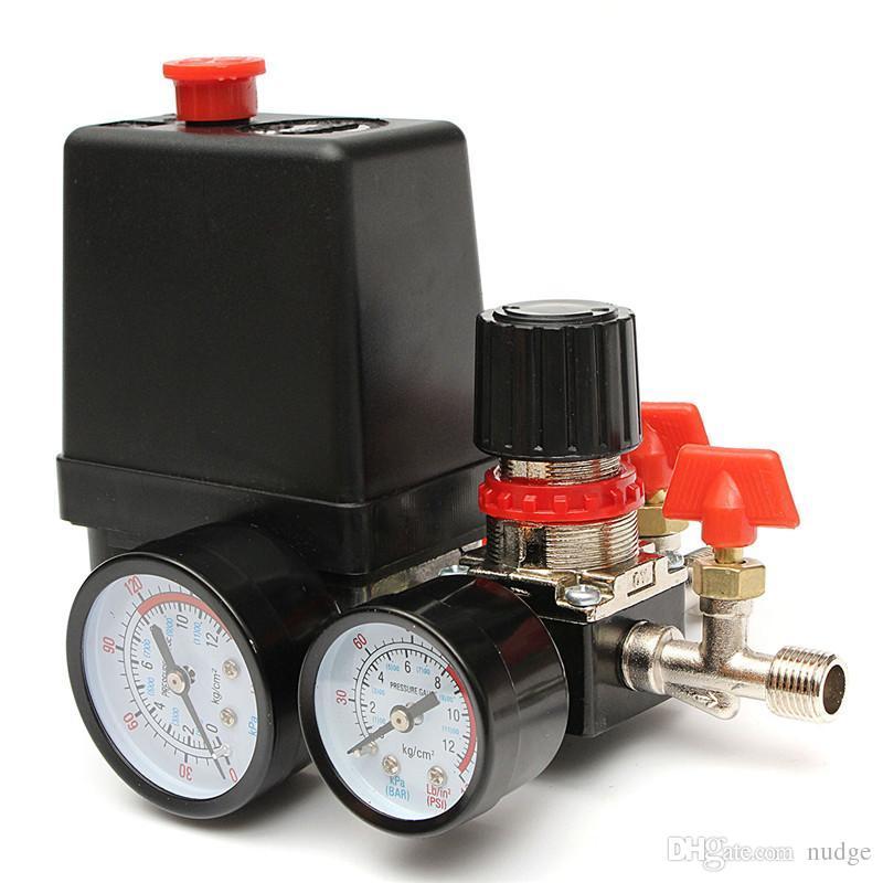 2019 125psi Air Compressor Pressure Valve Switch Manifold