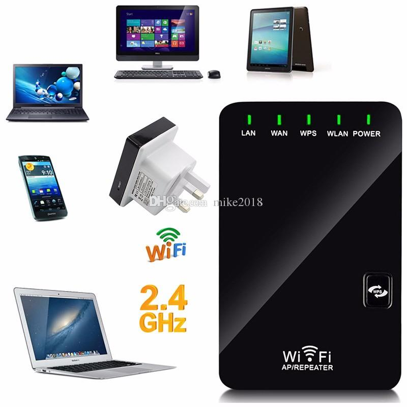 EU/US/UK/AU Plug Wireless-N Network Router AP WIFI Repeater Amplifier LAN Client Bridge IEEE 802.11b/g/n 300Mbps Singnal Booster