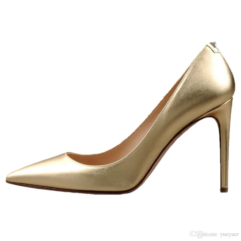 Zandina Womens Handmade Moda 100mm Um Salto Do Parafuso Prisioneiro de Volta Pointy Partido Escritório Sapatos De Salto Alto Sapatos