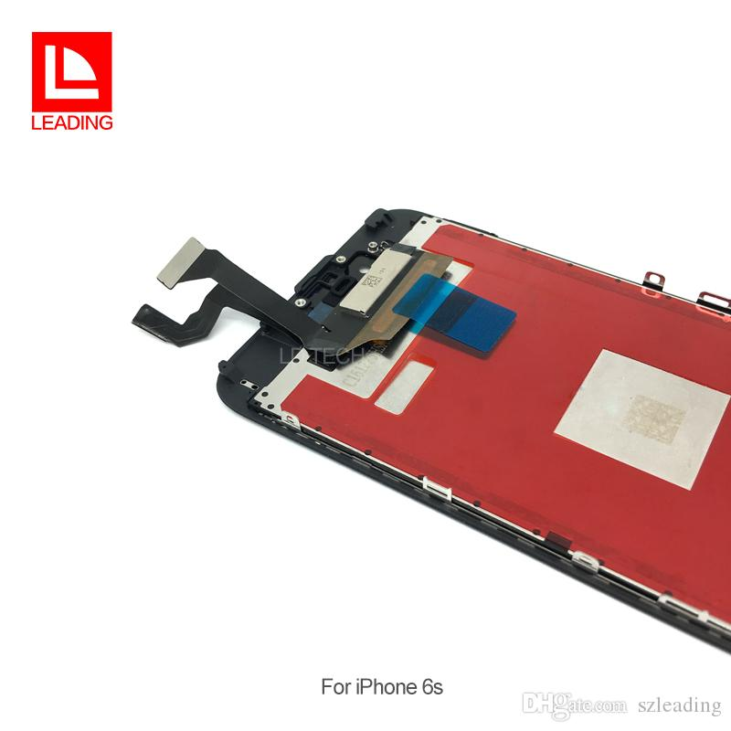 100% Test For iPhone 6S 4.7 inch LCD Display Screen With 3D Touch Display Assembly Replacement high screen Free DHL