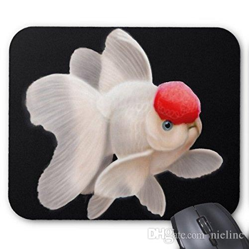 8adcb38785a Generic Customized Rubber Mousepad Gaming Mouse Pad Red Cap Oranda Goldfish  Mousepad Computer Wrist Pads Computer Wrist Rest From Nielinc, $6.44|  DHgate.Com