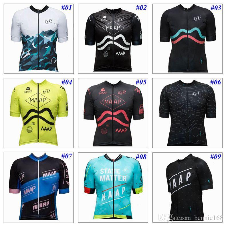 MAAP 2017 Cycling Tops Short Sleeves Summer Style For Men Women ... 7a3037566