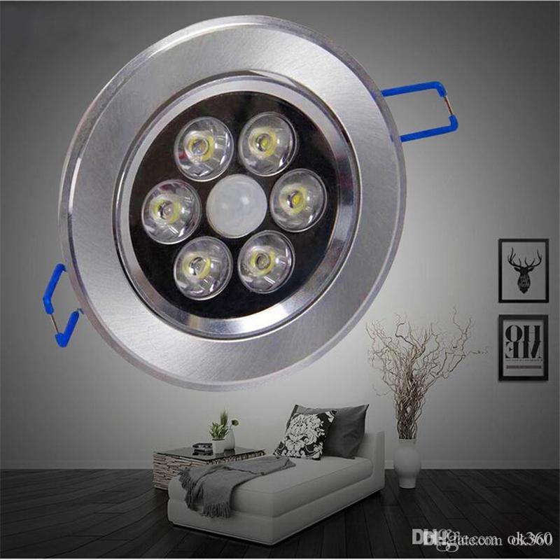 4W 6W 8W 11W LED Motion Sensor Ceiling Light for Bathroom Hallway ...