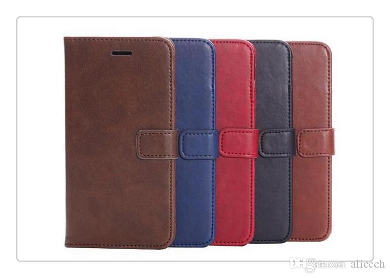 Wallet card phone Vintage Retro Flip Stand Wallet Leather Case With Photo Frame ID Card Holder Phone Cover For iphone6 4S