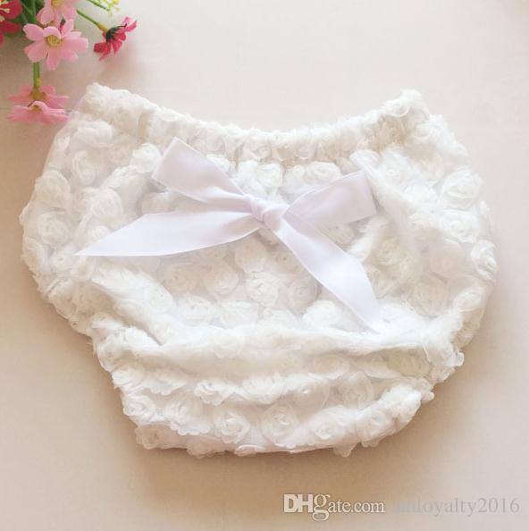 NEW ARRIVAL baby girl kids infant toddler bloomers bloomers rose flower bloomers diaper covers bowknot shorts photography clothing