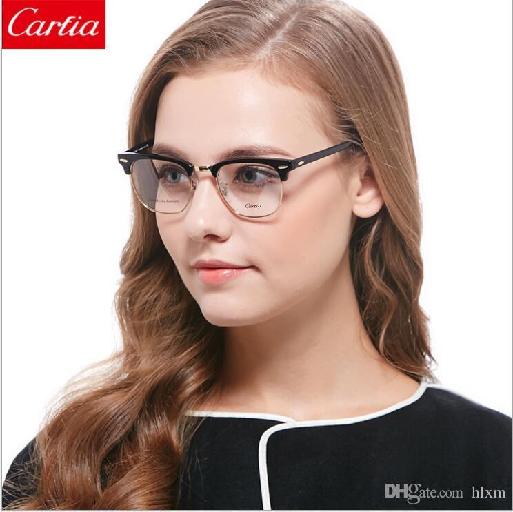 Großhandel Ca5154 Optische Rahmen Gläser Männer Und Womem Gläser ...