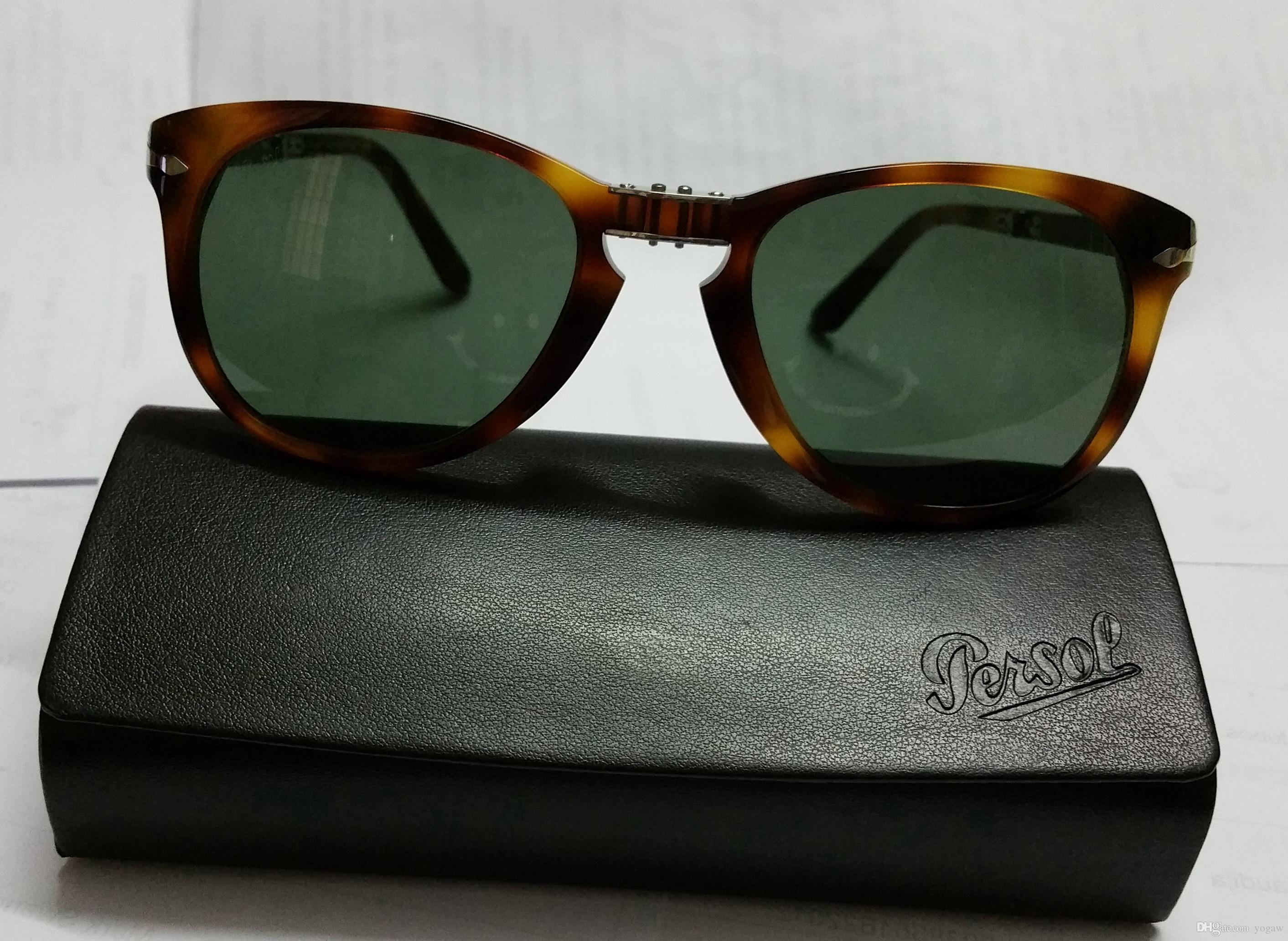 Compre Persol Gafas De Sol Po 714 24/31 Plegable La Habana Marrón ...