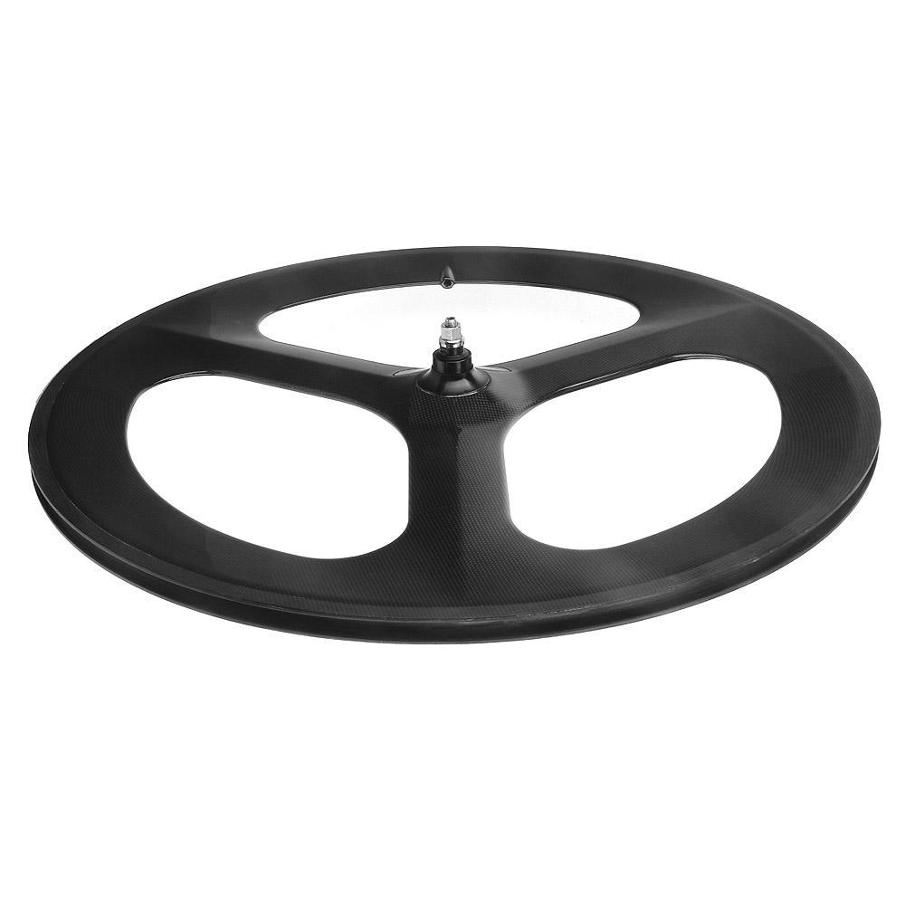 Carbon wheel 3 spoke 700C Fixed gear wheels Cycling Track carbon wheel bike spoke wheels Bicycle wheel