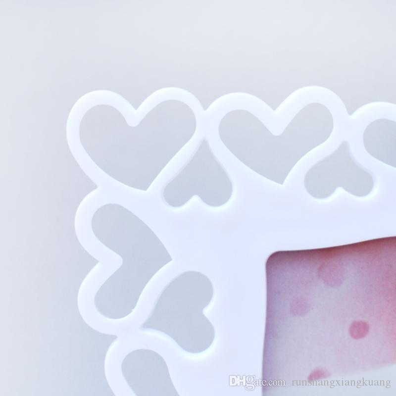 7 Inch Heart-shaped Frame Wall Creative Simple Picture Frame ...