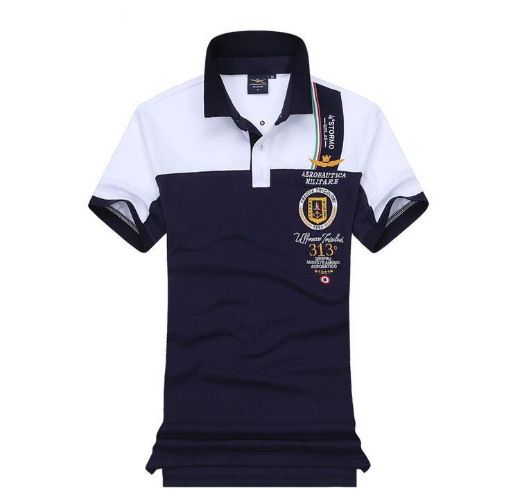 Compre 2018 Verão Venda Quente Camisa Polo Eua Polos Homens Manga Curta  Esporte Polo Homem Casaco Gota Frete Grátis De Xingwang6688 284f557bde7de