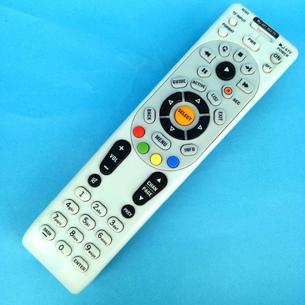 Wholesale- Remote Control Brand New FOR DIRECTV RC65X RC66X for HR20, H20,  HR21, H21 Universal Fernbedienung original