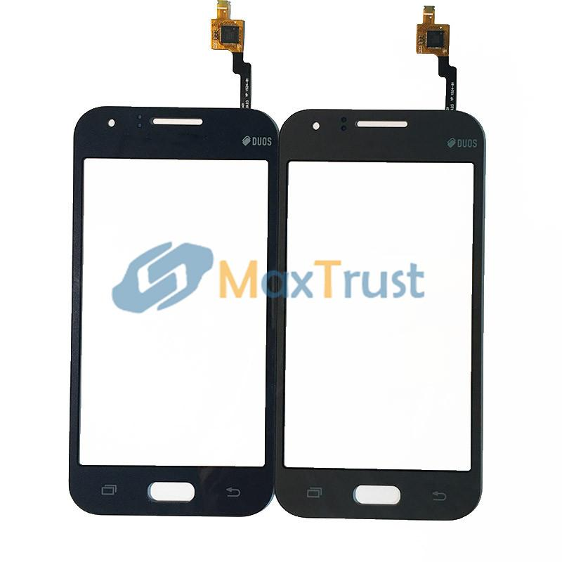 """Top Quality 4.3"""" For Samsung Galaxy J1 J100 Touch Screen Digitizer Front Panel Sensor Replacement Black White Gold Grey Color"""