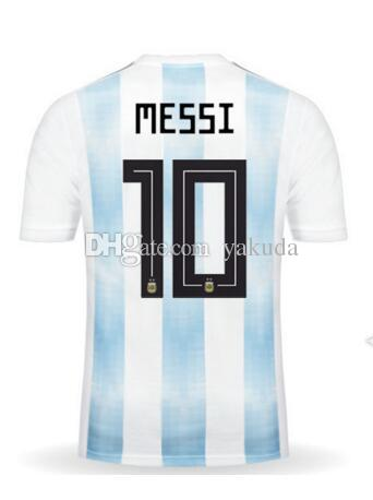 jersey home discount cheap 17 18 home men 10 messi thai quality soccer jerseyscustomized name number 21 dybala