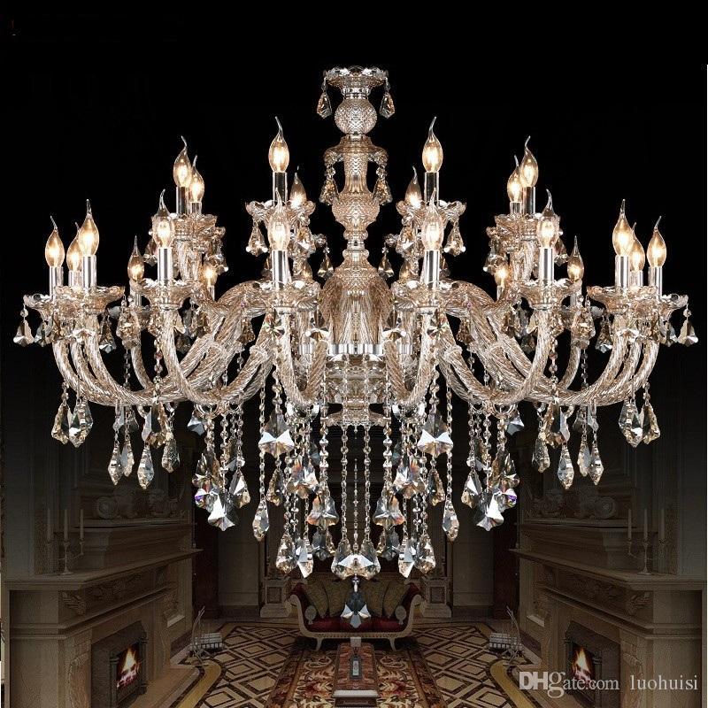 crystal chandelier lamp Fashion Room chandelier modern crystal light candle home lighting bedroom living room light crystal