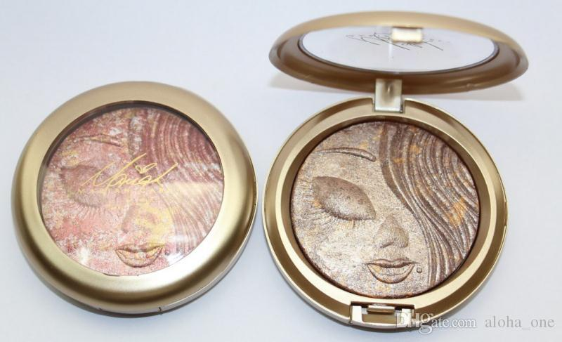 Factory Direct DHL New Makeup Face Holiday Powder Bronzer Extra Dimension Skinfinish Face Powder!12 Different Colors