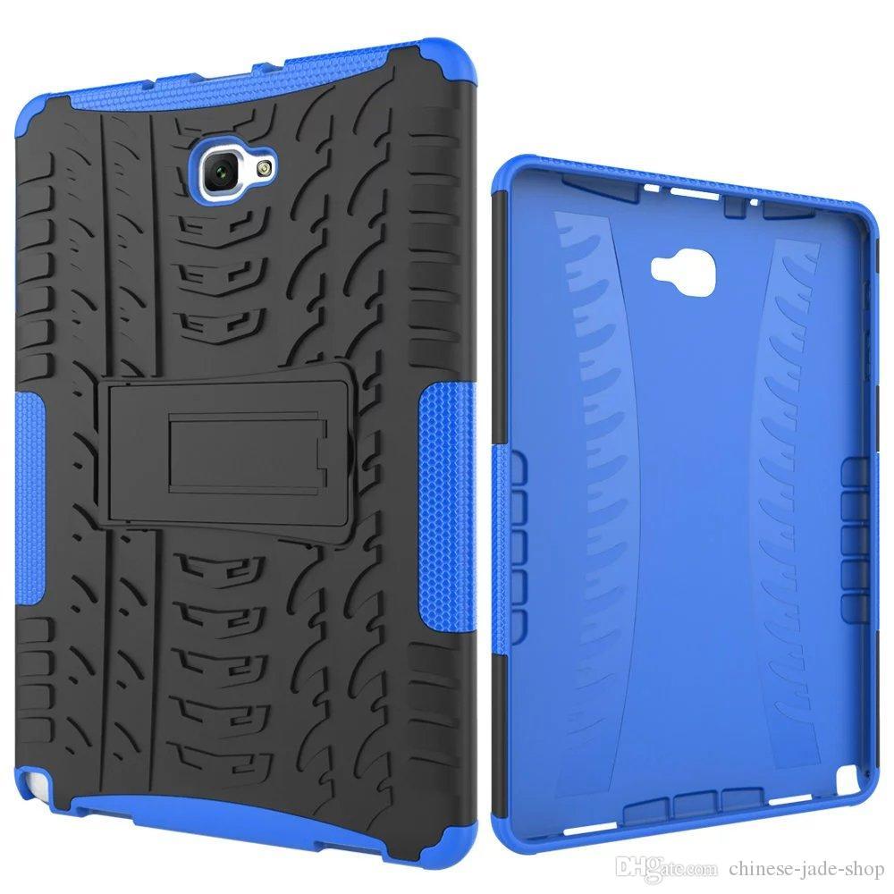 Hybrid KickStand Impact Rugged Heavy Duty TPU+PC Cover Case FOR Samsung Galaxy Tab A 10.1 P580 P585 Tab S4 10.5 T830 T835