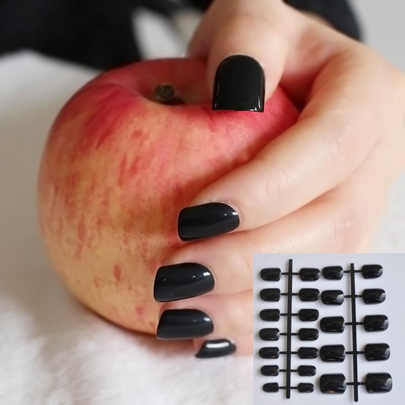 Wholesale Diy Nail Salon Goods Shine Surface Classic Black Sweet