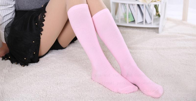 Yeni 4 Renkler Moda kadın Çorap Seksi Sıcak Uyluk Yüksek Diz Üzerinde Çorap Uzun Pamuk Çorap sıcak satış