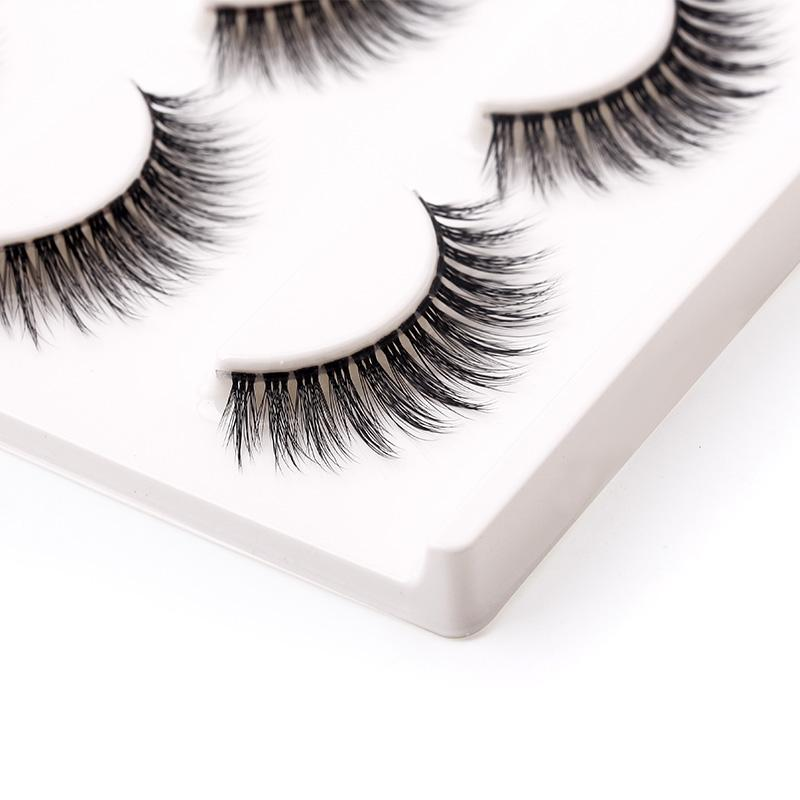 3d Handmade Fake Eyelashes Cheap Thick False Lashes Extension Mink