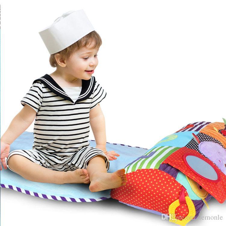 Çocuklar Halı Bebek Yumuşak Oyun Zili Mat Etkinlik Salonu Oynayan Mat Diş Kaşıyıcı Oyuncakları Gelişmekte Halı