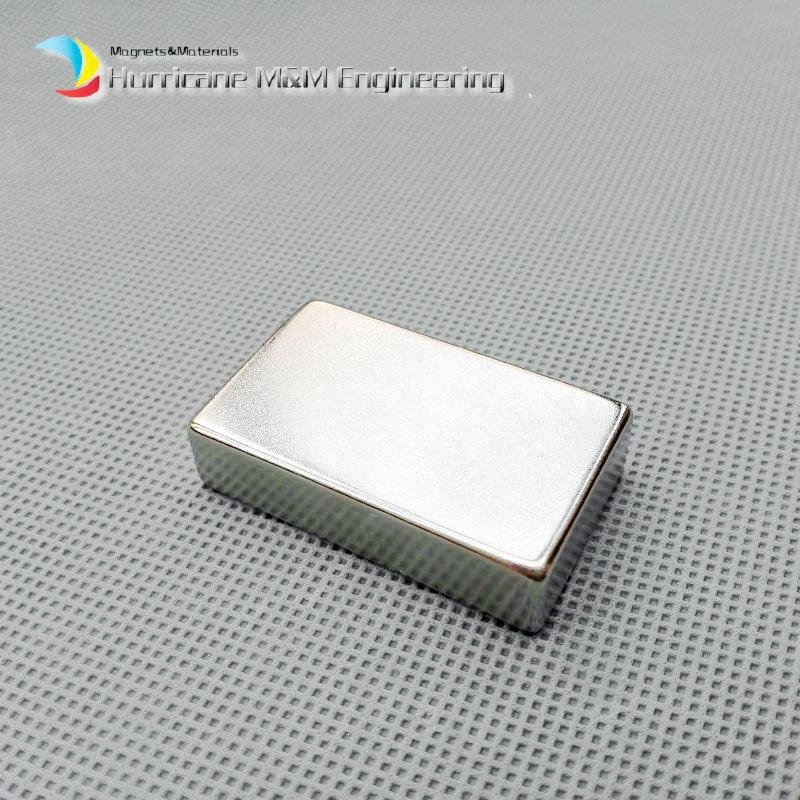 1 Pack Grade N52 NdFeB Block 40x25x10 mm about 1.57'' Rectangle Strong NdFeB Bar Neodymium Permanent Magnets Rare Earth Magnets