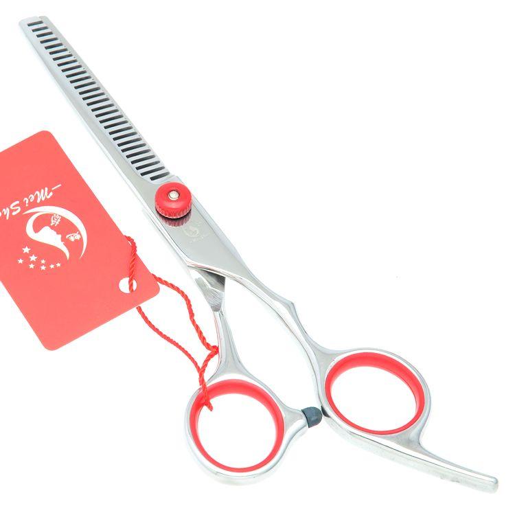 6.0Inch Meisha Professional Hairdressing Scissors Barber Scissors Thinning Shears JP440C 62HRC Stainless Steel Human Hair Tesouras HA0112