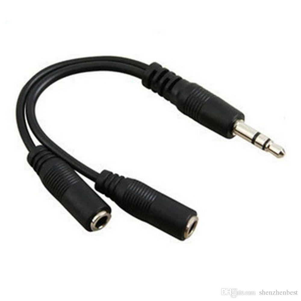 2019 Audio Conversion Cable 35mm 1 Male To 2 Female Headphone Jack Wholesale Black Coaxial Of Page 3 On Wiring Splitter Adapter From Shenzhenbest 1496